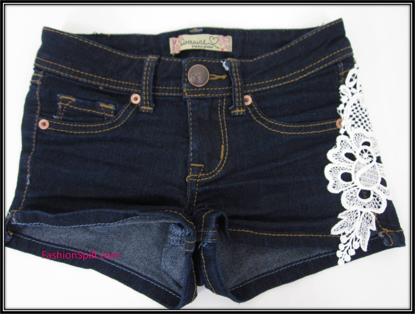 Customize Seu Shortinho Jeans