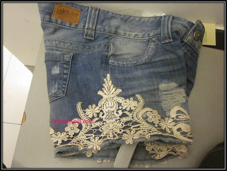 Po A Po  O Customizar Seu Shortinho Jeans