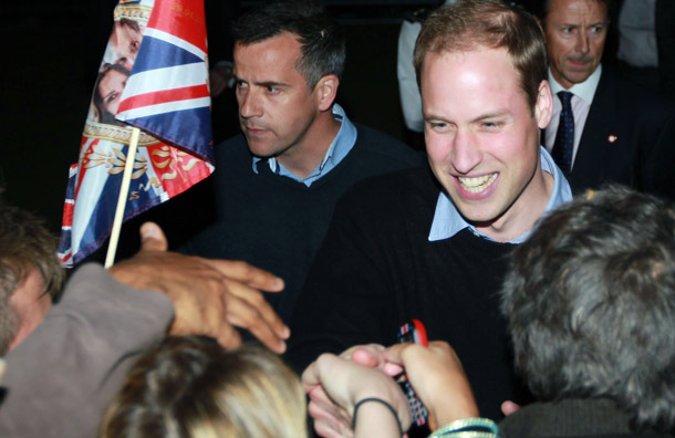 principe William resolveu sair da casa Clarence House de surpresa