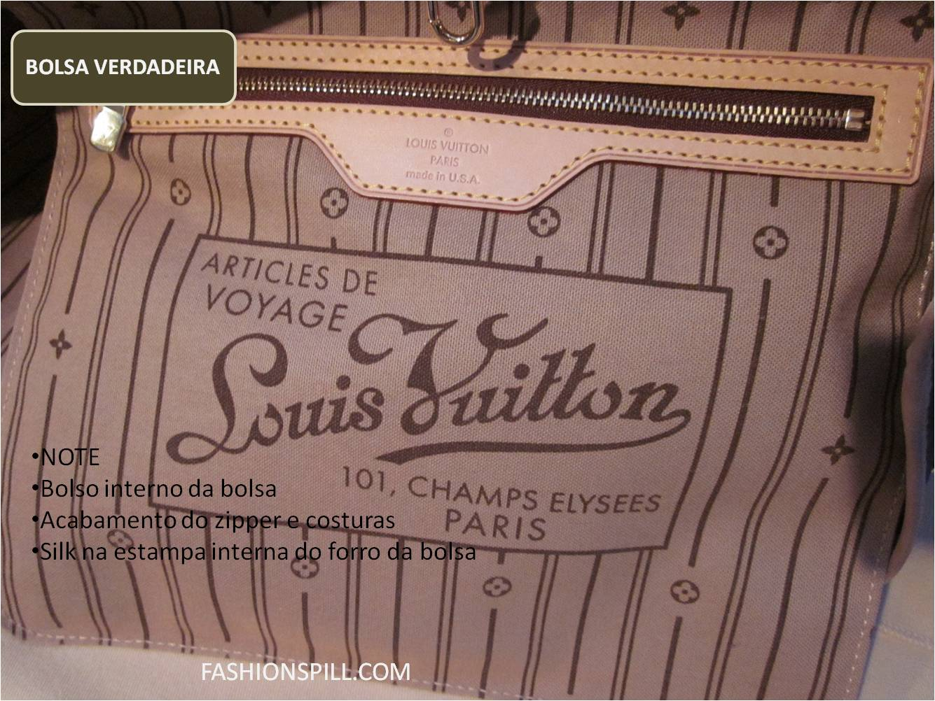 Bolso Louis Vuitton Por Dentro