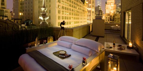 Hotel Aka em Nova York – Quarto ao Ar Livre