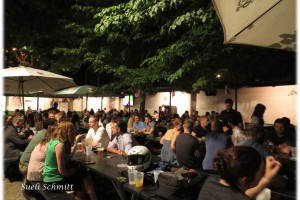 Beer Garden Bohemiam Hall Astoria New York