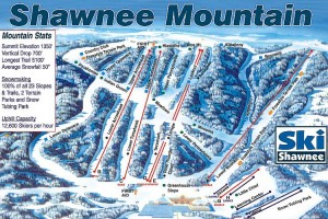 Ski no Shawnee Montains Resort