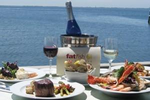 Restaurante FatFish em Long Island
